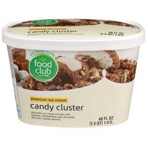 Candy Cluster Premium Ice Cream
