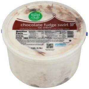 Chocolate Fudge Swirl Ice Cream