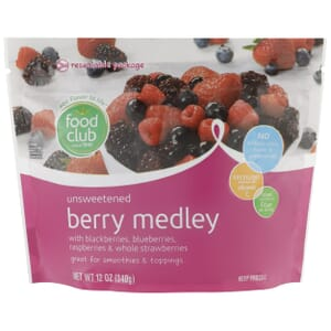 Berry Medley, Unsweetened