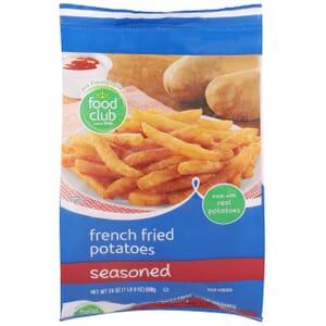 French Fried Potatoes, Seasoned