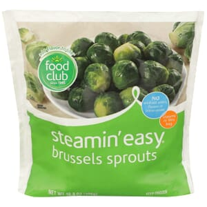 Steamin' Easy, Brussels Sprouts