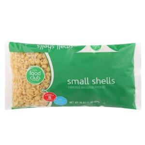 Small Shells Pasta