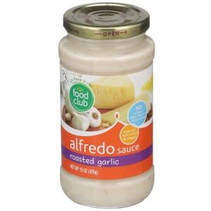 Roasted Garlic Alfredo Sauce