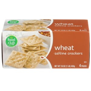Wheat Saltine Crackers