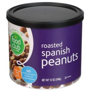 Spanish Peanuts, Roasted