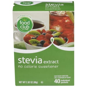 Stevia Extract, No Calorie Sweetener Individual Packets