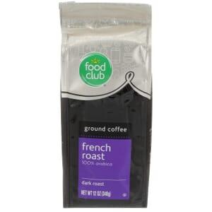 Ground Coffee - French Roast, 100% Arabica, Dark Roast