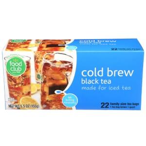 Cold Brew Black Tea