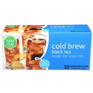 Cold Brew Black Tea