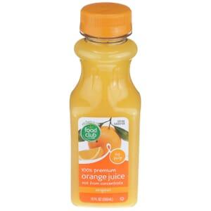 100% Premium Orange Juice, Original