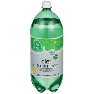 Diet Lemon Lime Flavored Soda