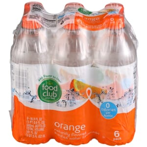Orange Purified Water Beverage
