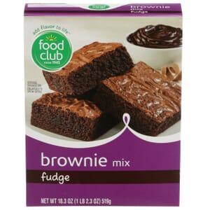 Fudge Brownie Mix