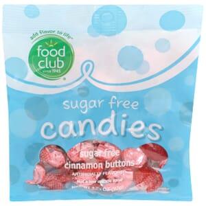 Sugar Free Candies, Sugar Free Cinnamon Buttons