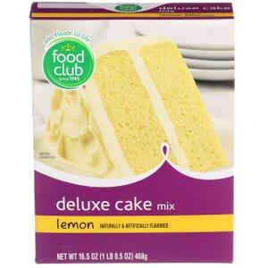 Lemon Deluxe Cake Mix