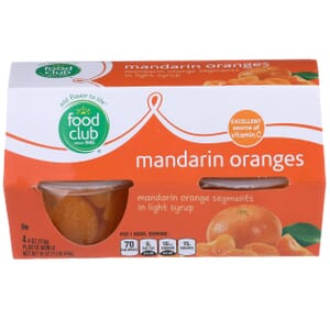 Mandarin Oranges, in Light Syrup