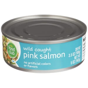 Wild Caught Pink Salmon
