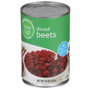 Diced Beets
