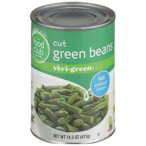 Cut Green Beans, Veri-Green