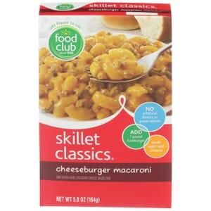 Skillet Classics, Cheeseburger Macaroni