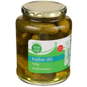 Kosher Dill Baby Pickles