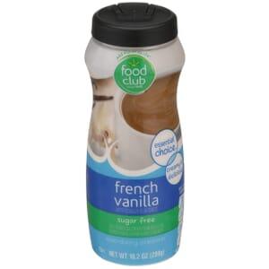 French Vanilla - Sugar Free Non-Dairy Creamer