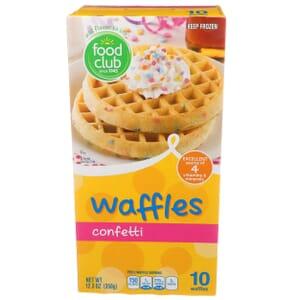 Confetti Waffles