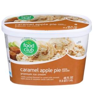 Caramel Apple Pie Premium Ice Cream