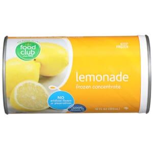 Lemonade Frozen Concentrate
