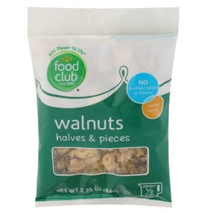 Walnuts, Halves & Pieces