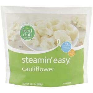 Steamin' Easy, Cauliflower