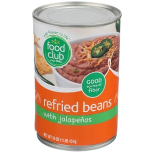 Refried Beans With Jalapenos