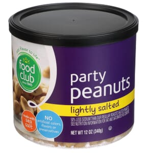 Party Peanuts, Lightly Salted