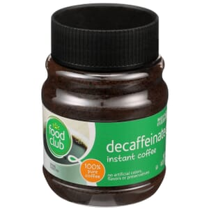 Instant Coffee - Decaffeinated