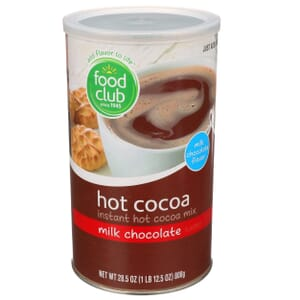 Milk Chocolate Flavored Instant Hot Cocoa  Mix