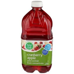 Cranberry Apple Juice Cocktail