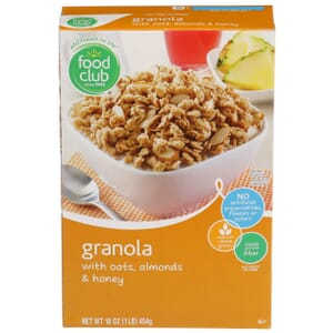 Granola with Oats, Almonds & Honey