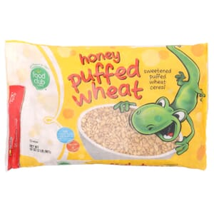 Honey Puffed Wheat Cereal