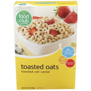 Toasted Oats Cereal