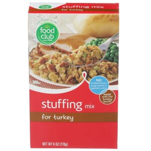 Stuffing Mix For Turkey
