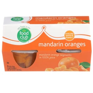 Mandarin Oranges in 100% Juice