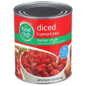 Diced Tomatoes, Italian Style