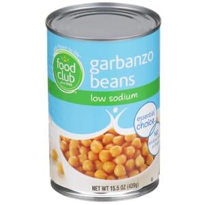 Garbanzo Beans - Low Sodium