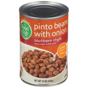 Pinto Beans With Onion, Southern Style