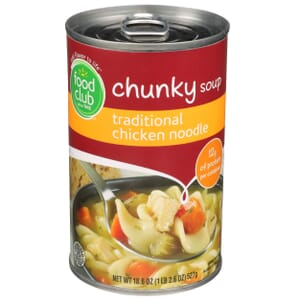 Traditional Chicken Noodle Chunky Soup