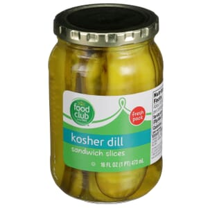 Kosher Dill Sandwich Slices Pickles