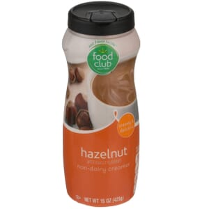 Hazelnut Non-Dairy Creamer