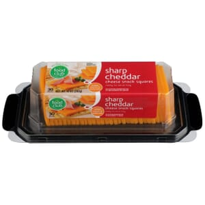 Sharp Cheddar Cheese Snack Squares