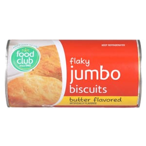 Flaky Jumbo Biscuits, Butter Flavored
