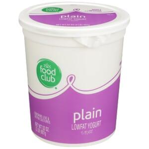 Plain Lowfat Yogurt